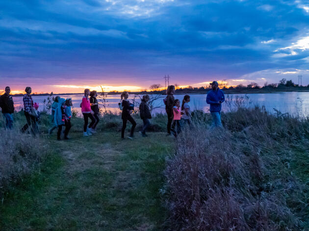 Prowl for Owls and Other Nocturnal Creatures at Rowe Sanctuary