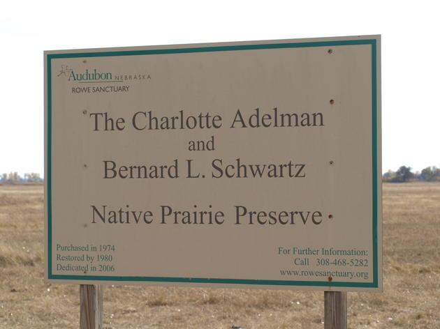 Charlotte Adelman and Bernard L. Schwartz Native Prairie Reserve